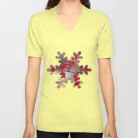 Berry Sparkles Unisex V-Neck