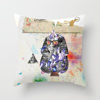 Tuts Formation Throw Pillow