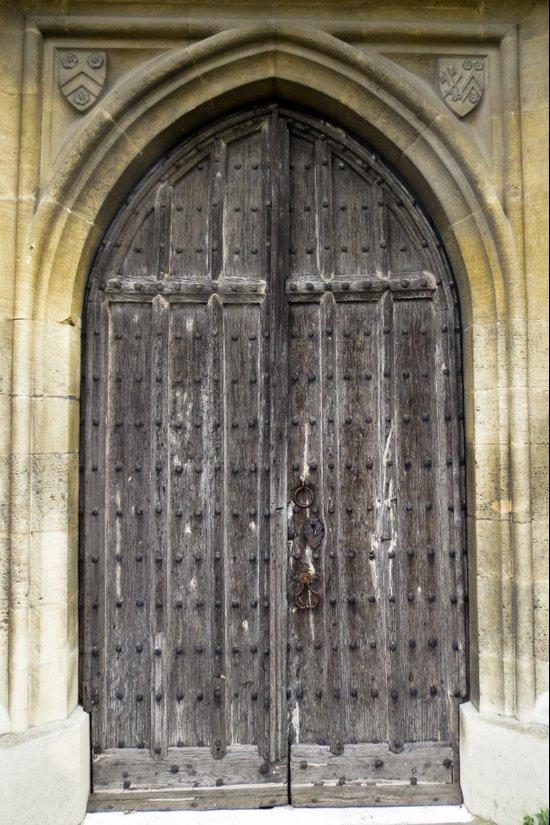 The Church Door Canvas Print