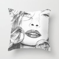Kitty Manhattan Throw Pillow
