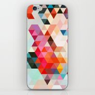 iPhone & iPod Skin featuring Heavy Words 01. by Three Of The Possess…