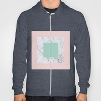 Marble With Pastels /// … Hoody