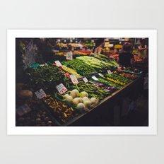 veggies Art Print