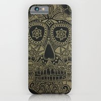 Gold Skull iPhone 6 Slim Case