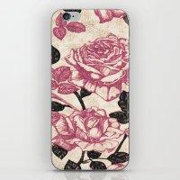 Toile De Jouy Rosas Cál… iPhone & iPod Skin