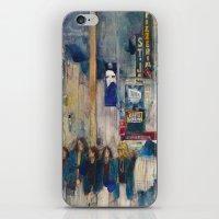 Phantom of the Opera New York Theatre District _ (2014) Watercolor  iPhone & iPod Skin