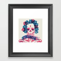 WE ARE ALL LOST. LOST TI… Framed Art Print