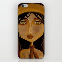 Pilot Girl iPhone & iPod Skin