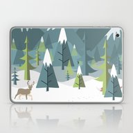 Winter Forest Laptop & iPad Skin