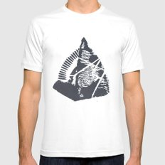 The Mountain Mens Fitted Tee SMALL White