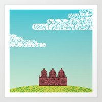 Chantily Castle I Art Print