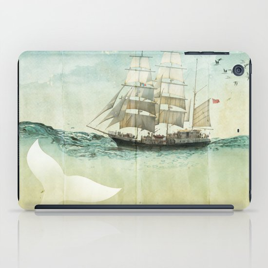 white tail iPad Case