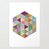 Geometric Study Art Print