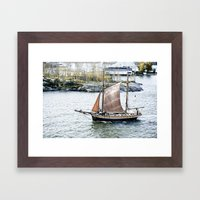 Treasure Bound!! Framed Art Print