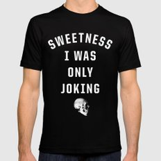 Sweetness SMALL Black Mens Fitted Tee