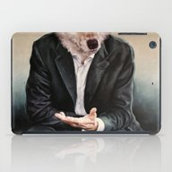 iPad Case featuring The Politician by Karien Deroo