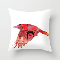 The Rook #IV Throw Pillow