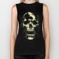 Scream (gold) Biker Tank