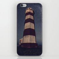 Lighthouse in the Sky iPhone & iPod Skin