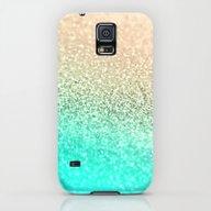 GOLD AQUA Galaxy S5 Slim Case
