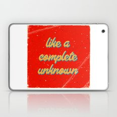 Like a rolling stone #3 Laptop & iPad Skin
