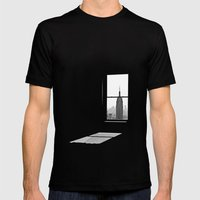Empire State Mens Fitted Tee Black SMALL