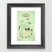 Time Is Out Framed Art Print