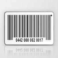 Barcode 1 Laptop & iPad Skin