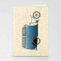 Camper Bike Stationery Cards