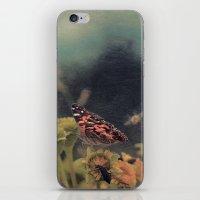 American Painted Lady Bu… iPhone & iPod Skin