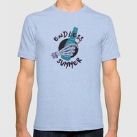 Endless Summer Mens Fitted Tee Athletic Blue SMALL