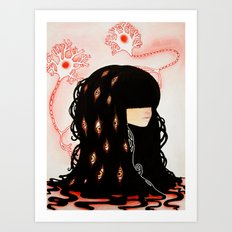 GABA GABA HEY - Neurons, Dreams and Us Art Print