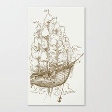 Voyage Home Canvas Print