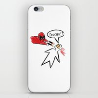 Deadly Sketch iPhone & iPod Skin