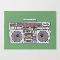 paper jams Canvas Print