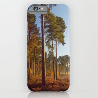 iPhone & iPod Case featuring Rising Sun And Tree by Clive Eariss