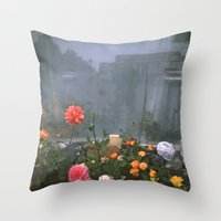 Self Reflection Throw Pillow
