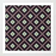 Starry Tiles In AtBMAP 0… Art Print