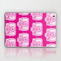 I Still Shoot Film Holga Logo - Reversed Pink Laptop & iPad Skin