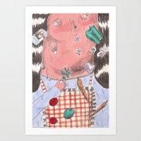 ϟ ϟ  Art Print
