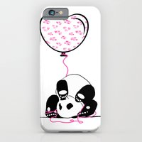 iPhone & iPod Case featuring Lovely Panda by Aleksandra Mikolajczak