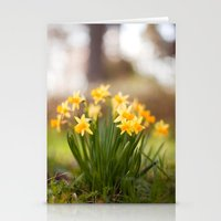 Spring Temple Stationery Cards