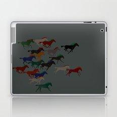 Horse Stampede Laptop & iPad Skin