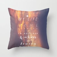 One Direction: Story Of … Throw Pillow