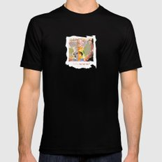 feeling hot hot hot / the islands Black SMALL Mens Fitted Tee