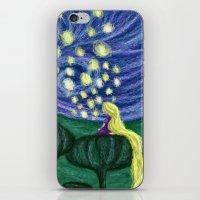 Impressionist Lanterns iPhone & iPod Skin