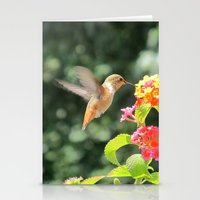 Radiant Nature Humming Away Stationery Cards