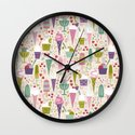 Summer Delights  Wall Clock