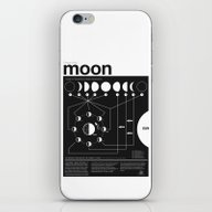 Phases Of The Moon Infog… iPhone & iPod Skin