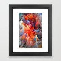 Pattern Color Aaa Framed Art Print